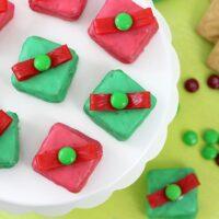 Christmas Gift Box Cookies