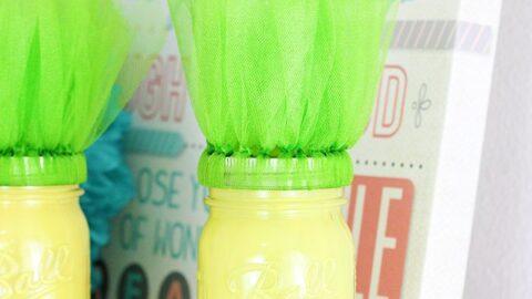 DIY Pineapple Mason Jars