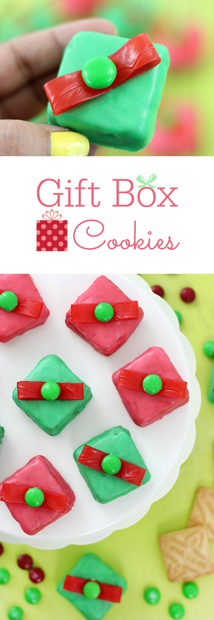 Gift Box Cookies. Make these festive gift box cookies easily with Lorna Doone Cookies  sc 1 st  Cutefetti & Christmas Gift Box Cookies | LIFESTYLE BLOG Aboutintivar.Com