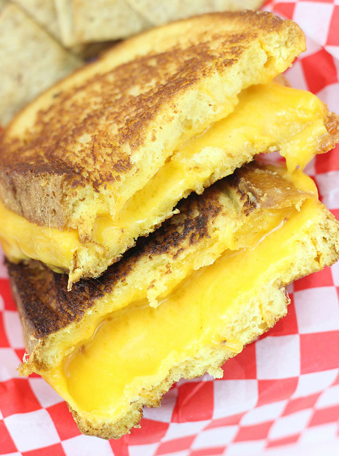 Best Grilled Cheese Ever