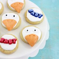 Celebrate STORKS with these Cute Cookies
