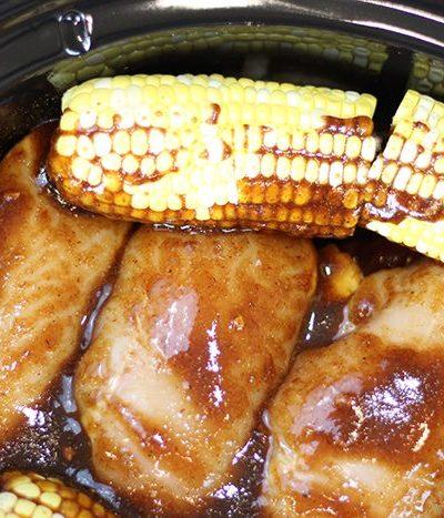 Crock-Pot® Slow Cooker Sweet & Spicy BBQ Chicken Dinner