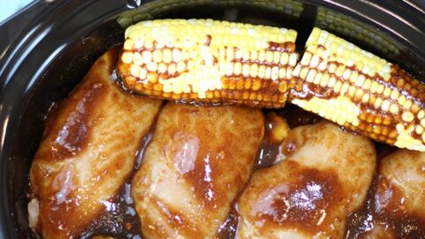 Slow Cooker BBQ Chicken Dinner