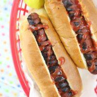 Game Day Spirit: Spiral Hot Dogs