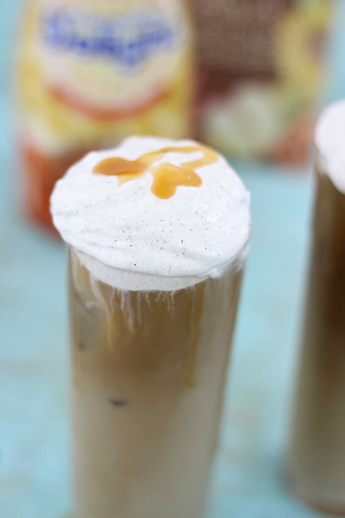 Pumpkin Spice Whipped Topping to Put on Everything