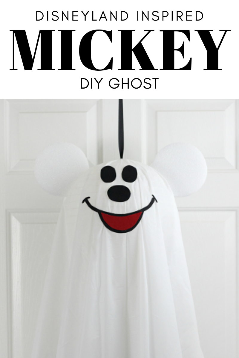 Mickey Mouse Ghost DIY thats Disneyland Inspired.
