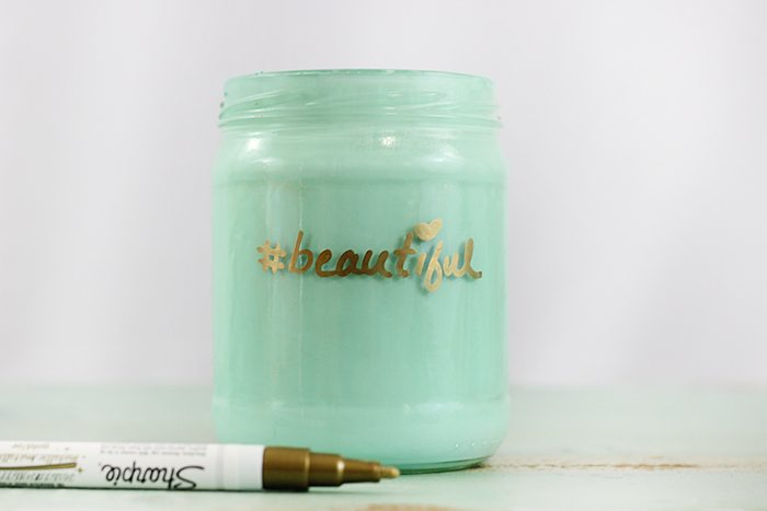 DIY Positive Self Esteem Jars. Boost up a young girl or women in your life with this trendy jars to show them they're beautiful inside and out.