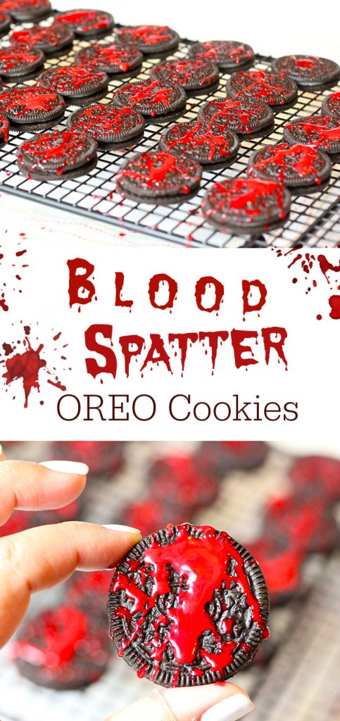 Creepy Halloween Party Treats. From haunted pudding cups, to blood spattered OREO cookies and more.