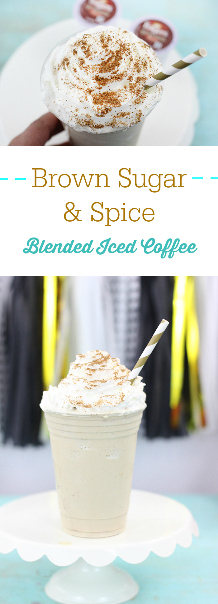 Brown Sugar & Spice Blended Coffee