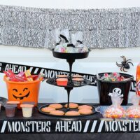 Sweet and Spooky Halloween Party Table