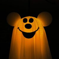 DIY Halloween Mickey Ghost Copy Cat