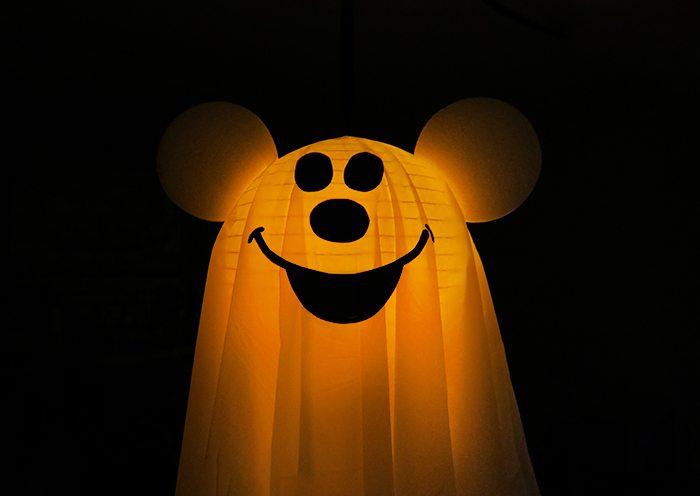 DIY Mickey Halloween Ghost. Copy Cat from Disneyland.