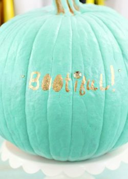 Spread Love this Halloween with a BOOtiful Pumpkin