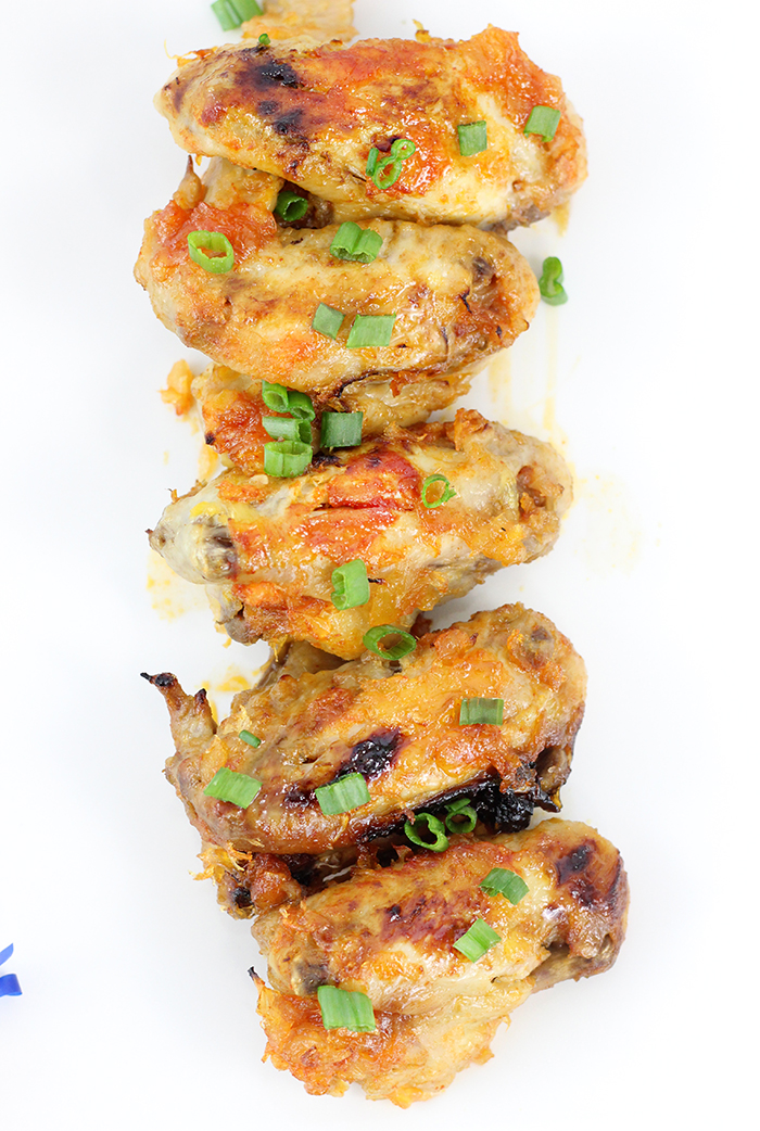 Crock-Pot® Slow Cooker Pineapple Sriracha Chicken Wings. Easy and delicious recipe that's perfect for game day.