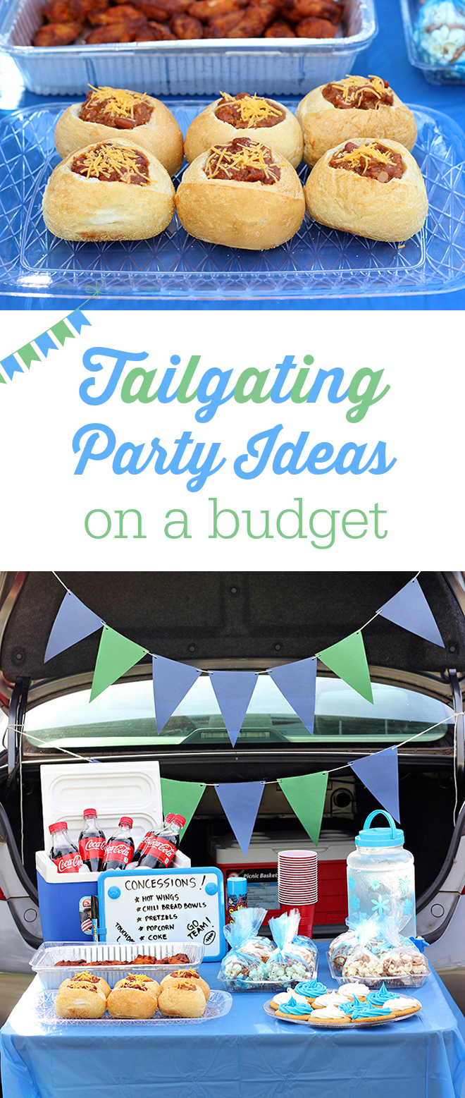 Tailgating Party Ideas on a budget. With a little DIY and fun inspired foods, you can create the best football party right from your vehicle.