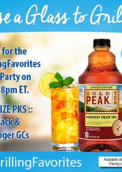 RSVP for the #FallGrillingFavorites Twitter Party on 11/1