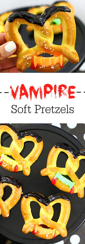 Vampire Soft Pretzels and Delicious Halloween Sake Ideas