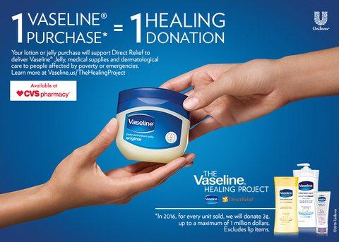 Vaseline Helping Hand