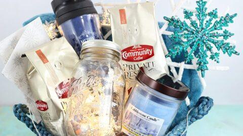 Let It Snow Gift Basket Ideas