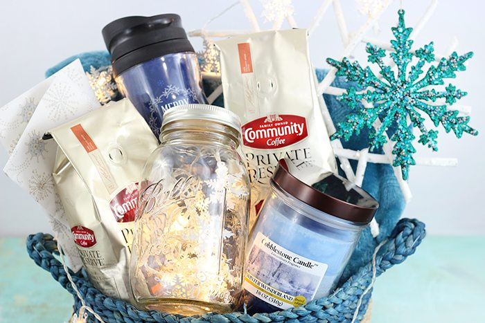 Let It Snow Gift Basket Ideas Cutefetti