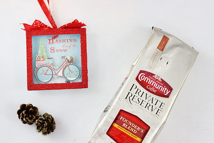 Let it snow gift basket ideas that are perfect for the holidays.