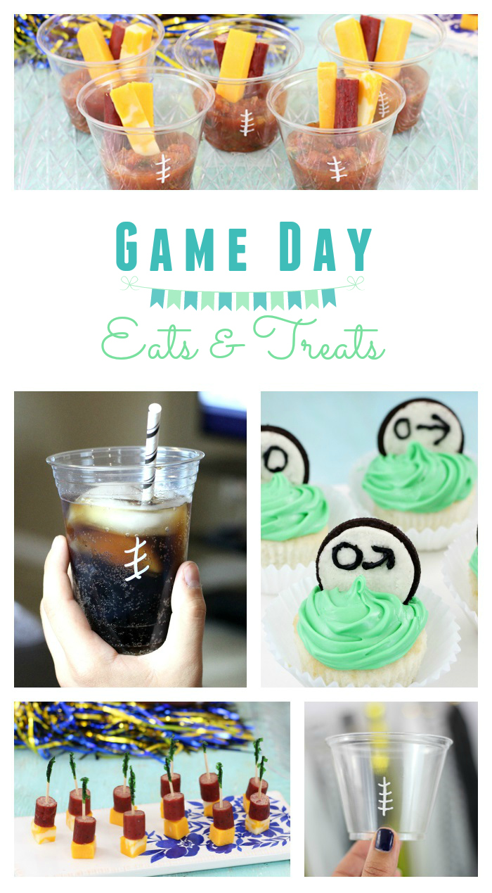 Football Eats and Treats that are easy and delish. Take your next game day to the next level.