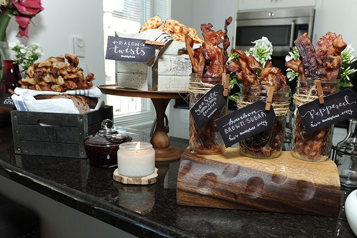 Bacon Bar Ideas and Printables for the perfect party.