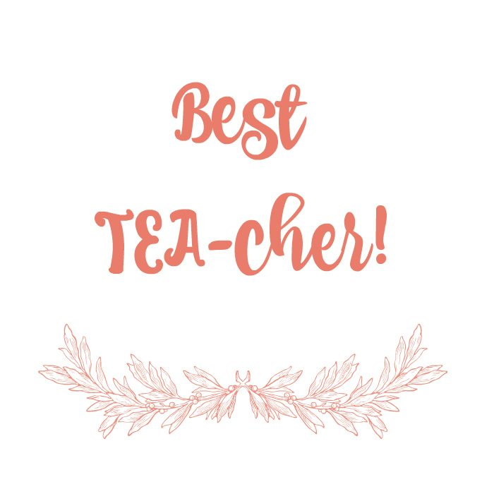 DIY Tea Notes to gift tea with for any occasion.