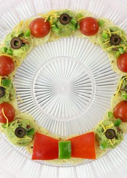 Holiday Food Fun: Nacho Wreath