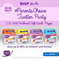 RSVP for the #ParentsChoice Twitter Party on 12/21/2017