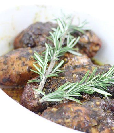 Crock-Pot® Slow Cooker Cranberry Pesto Chicken