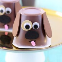Make Snacking Fun with Puppy Pudding Cups