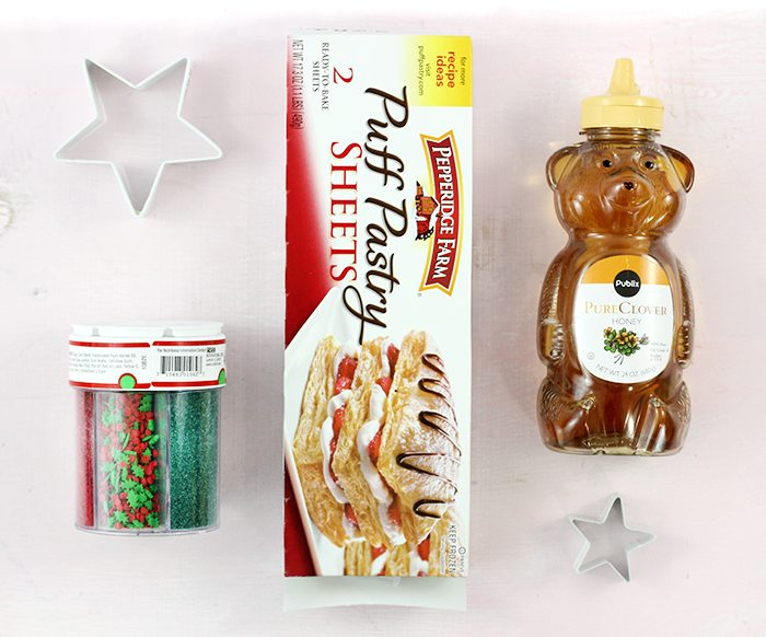 Christmas Tree Pastries that are so easy to make. Cute and tasty too.