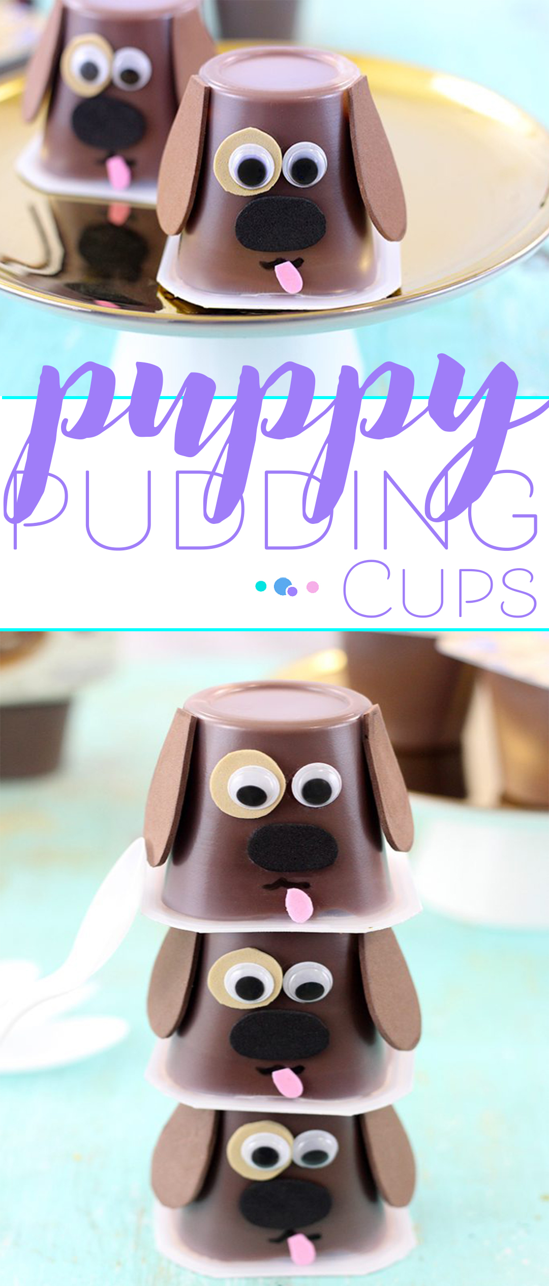 Puppy Pudding Cups