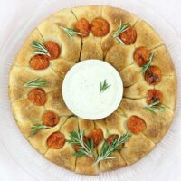 Make Moments with this Ranch Dip Bread Wreath