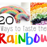 20 Colorful Sweet & Savory Rainbow Recipes