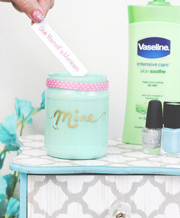 Me Time Idea Jar & 12 Ways to Celebrate You