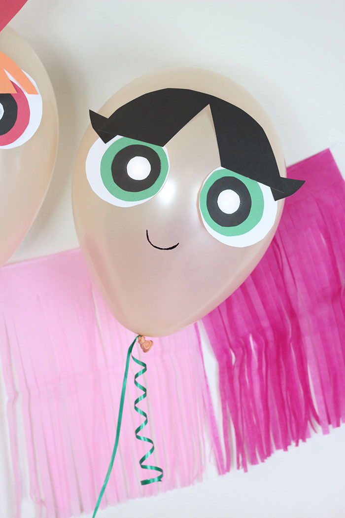 The Powerpuff Girls DIY Balloons. They're back! These balloons are the perfect party decor.