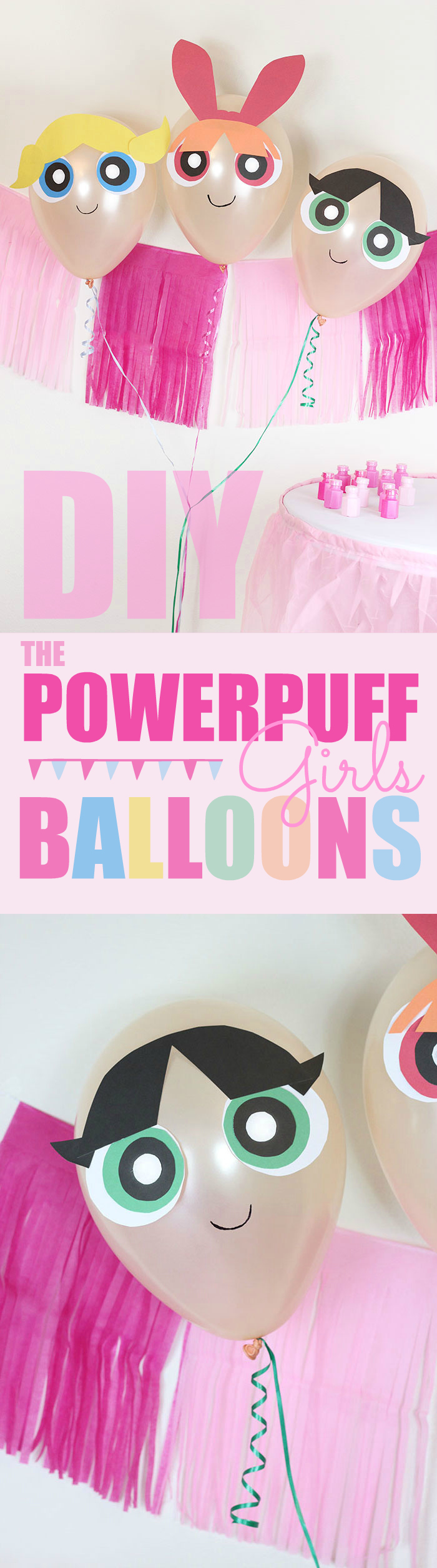 Diy The Powerpuff Girls Balloons  Cutefetti-4050