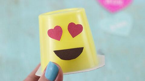 Emoji Pudding Cups
