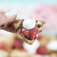 Celebrate Frozen Food Month with Pie Crust Nachos