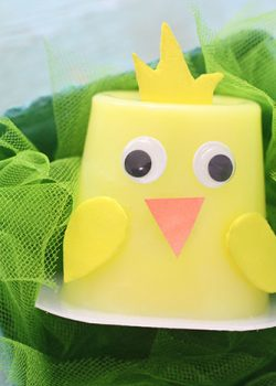 Easter Chick Pudding Cups