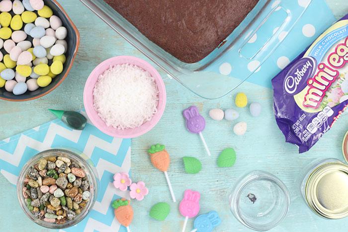 Terrarium Dessert Jars. Fun Treat for Kids to Make.