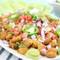 Try this Tasty Twist: Popcorn Shrimp Nachos