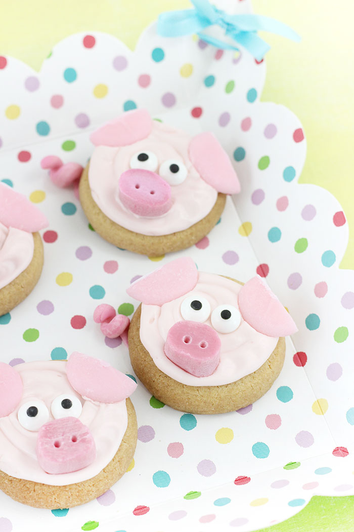 Pig Cookies for Parties. Perfect for setting the scene for a fun movie night at home. Pick up the SING Special Edition on DVD and Blu-ray in stores now.