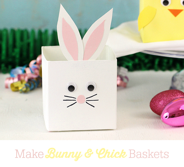 upcycled bunny basket