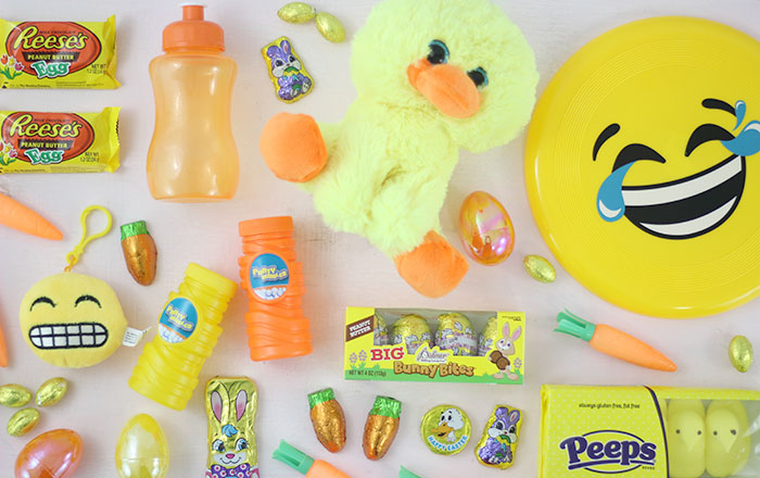 Big list of color themed easter basket fillers lifestyle blog color themed easter basket fillers pink blue yellow orange for the perfect baskets negle Images