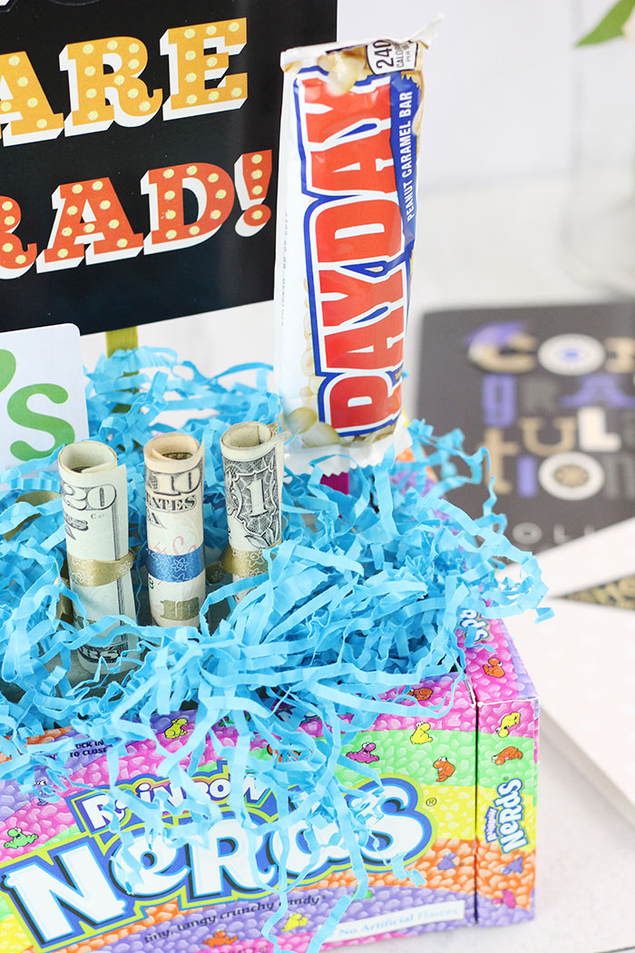 DIY Graduation Gift Ideas with Cash and Gift Cards.