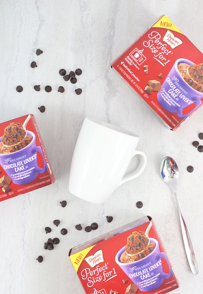 Chocolate Mug Cake just got better. This quick and easy mug cake hack will definitely be your new favorite.