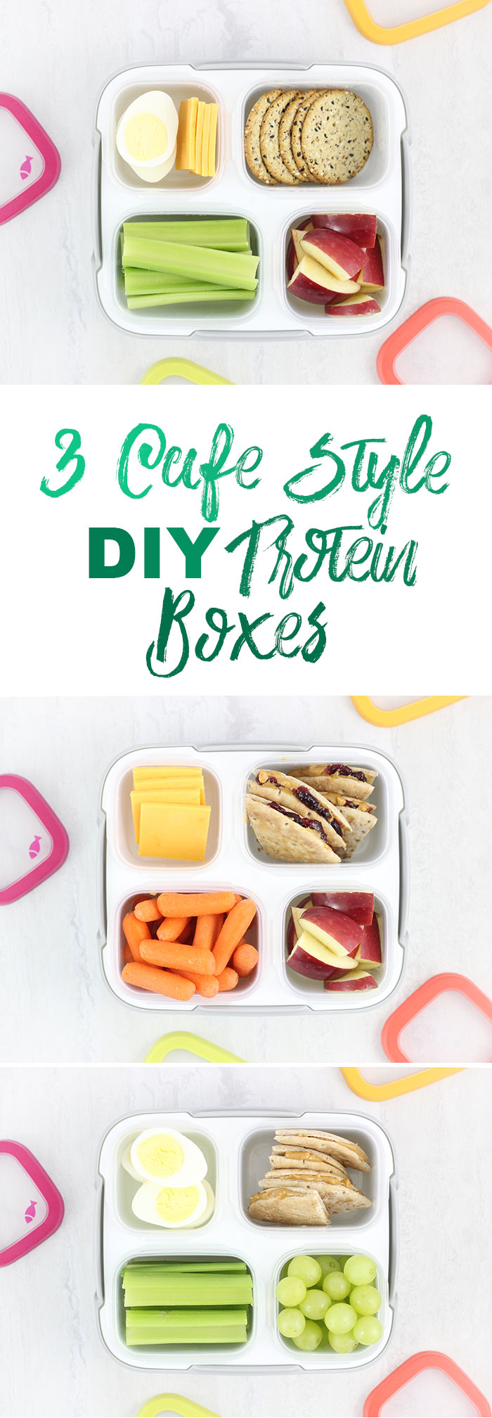 3 DIY Cafe Style Protein Boxes | Cutefetti